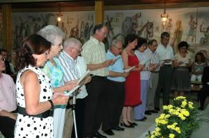 primera Consagración de Mercedes Fuente y Mercedez López y Renovación Consagración 11 de Julio 2009