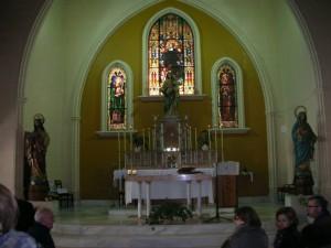 """caapilla """"La Salle-Viña"""" .- altar mayor"""