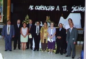 Los primeros Signum Fidei en Andalucía 27 de Agosto 2.001