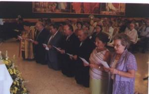 primera Consagración de la Fraternidad Signum Fidei Andalucía