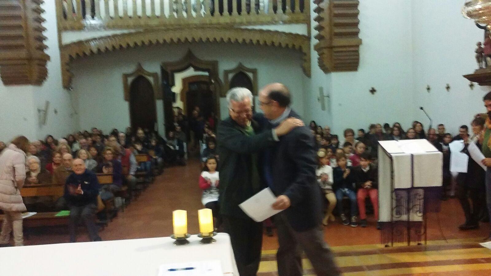 Francisco Martin Reina, recibido como Signum Fidei por el Hno Visitador Auxiliar
