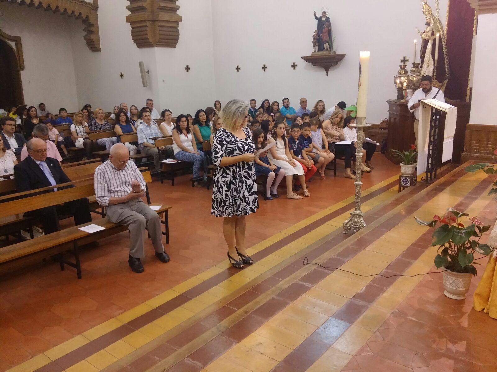 Asociada de Sevilla renovando su compromiso de Asociación